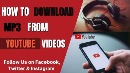 how to download mp3 from youtube videos